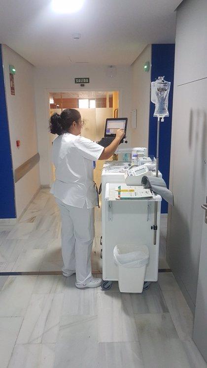 Hospital Valle de los Pedroches de Pozoblanco (Córdoba) digitaliza los registros de enfermería a través de 'Tablet'