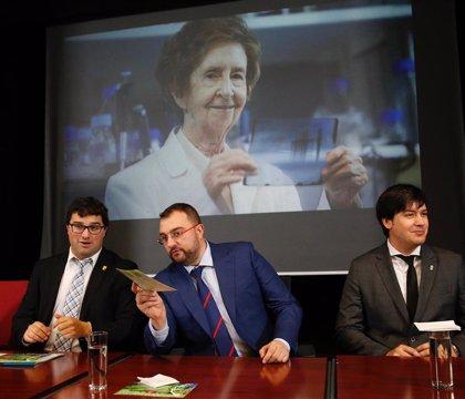El Principado pondrá en marcha un programa de retención de talento científico que llevará el nombre de Margarita Salas