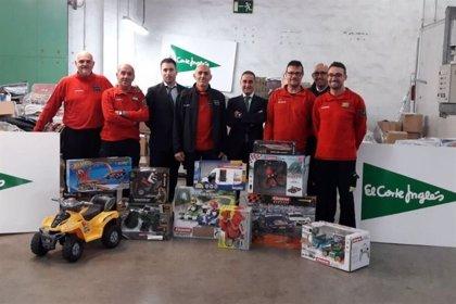 Bombers de Mallorca repartirán en Navidad juguetes a los niños con necesidades