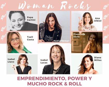"""LIOC Editorial patrocina la VI Edición de """"Woman Rocks"""" en apoyo a la mujer emprendedora"""