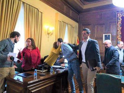 Francisco Blas se despide del pleno del Ayuntamiento de Teruel y agradece a sus compañeros la labor realizada