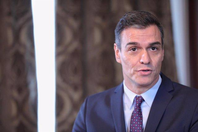 El president del Govern central en funcions, Pedro Sánchez, el 12 de novembre del 2019.