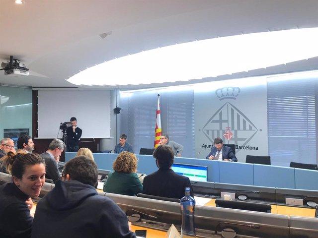 La comissió de Presidència, Drets de Ciutadania, Participació, Seguretat i Prevenció.