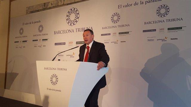 Ángel Simón, president d'Agbar