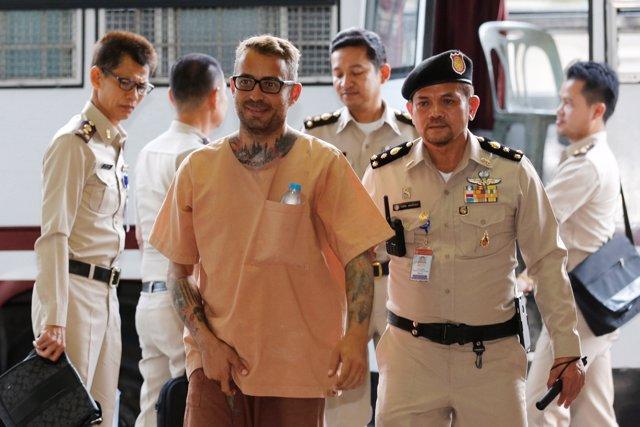 El español Artur Segarra, condenado a muerte por un asesinato en Tailandia