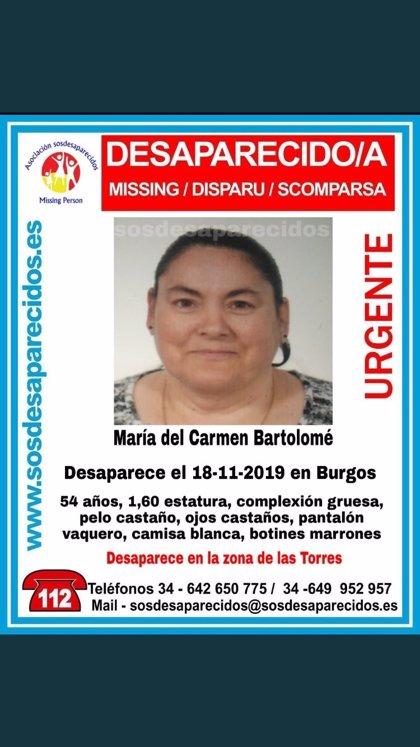 Buscan en el barrio de Gamonal de Burgos a una mujer de 54 años desaparecida desde el lunes