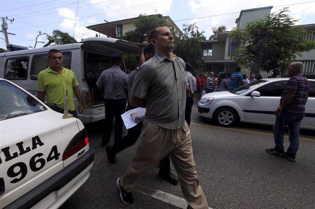 El líder de la Unión Patriótica de Cuba (UNPACU), José Daniel Ferrer
