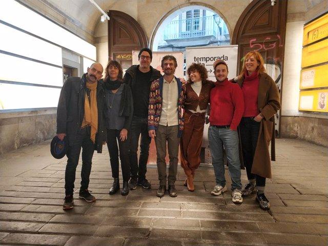 Jomi Oligor, Christiane Jatahy, Àlex Rigola, el duo Cabosanroque, Pere Faura i Tanya Beyeler han presentat la 'Setmana de Programadors'