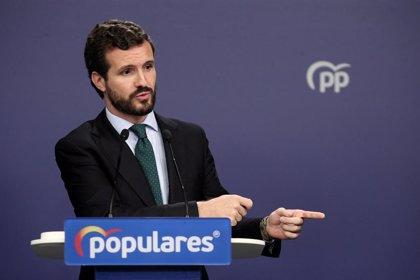 Casado rechaza abstenerse para investir a Sánchez pero se abre a facilitar la gobernabilidad con condiciones