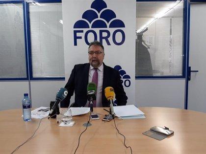 """Oblanca (Foro) carga contra Moriyón y le acusa de """"agraviar"""" a Álvarez-Cascos"""