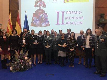 """La delegada del Gobierno en Aragón llama a la unidad contra la violencia de género y a descubrir la """"invisible"""""""