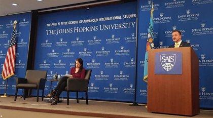 """Bosch afirma en Washington que """"el caso catalán implica de forma clara a EE.UU."""""""