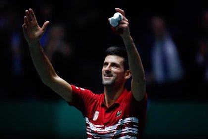 Djokovic pide fusionar ATP Cup y Copa Davis