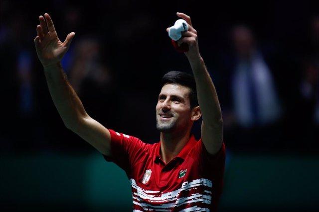Tenis/Davis.- Djokovic pide fusionar ATP Cup y Copa Davis