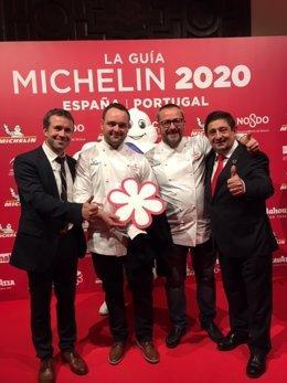 Jaén.- MásJaén.- Reyes se congratula de la segunda estrella Michelin para la pro