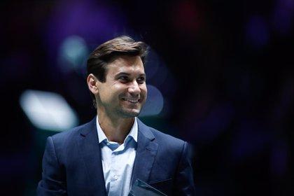 David Ferrer recibe el Premio a la Excelencia de la Copa Davis