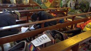 Fallecidos en las protestas en El Alto
