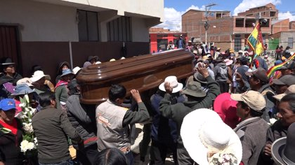 Dolor y rabia en Bolivia por la muerte de ocho personas en la operación de desbloqueo de la planta de Senkata
