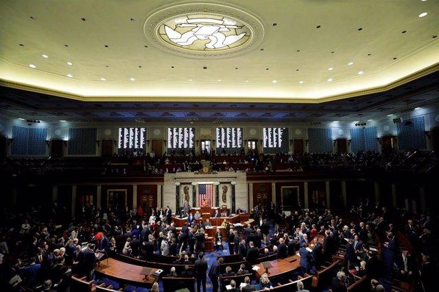 La Cámara de Representantes de EEUU (imagen de archivo)