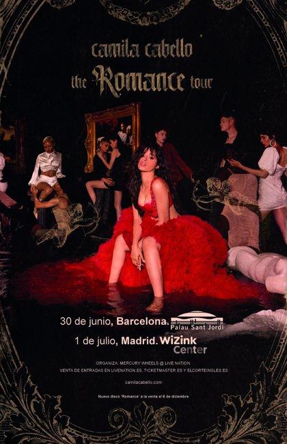 Camila Cabello anuncia conciertos en Barcelona y Madrid