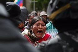 La Defensoria del Poble de Bolívia situa en 32 els morts per la violència des del començament de la crisi (Gaston Brito/dpa)