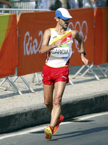 """García Bragado: """"Mi último dorsal me lo pondré en Tokio"""""""