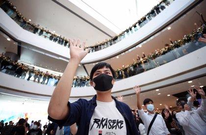 China.- China pide a Trump que vete la ley que respalda las protestas en Hong Kong