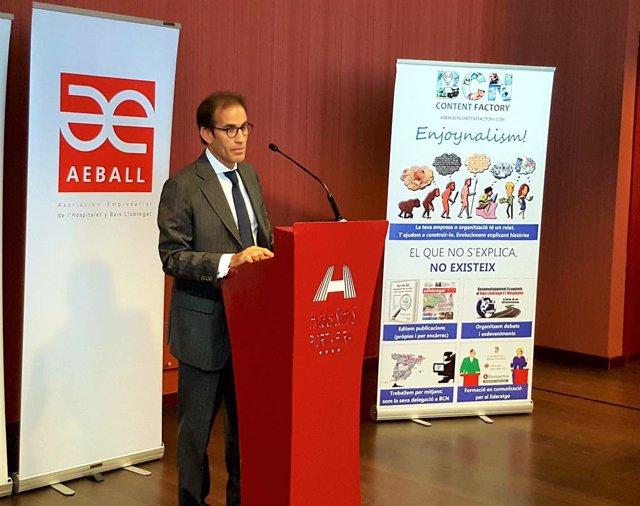 El president de Fira de Barcelona, Pau Relat