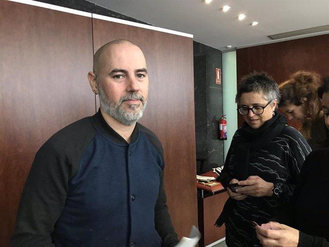 El regidor de Barcelona i president d'AMAP, Eloi Badia