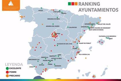 Gasto social de los municipios grandes: 5,7 millones de habitantes viven en la 'excelencia', 4 millones en la 'pobreza'