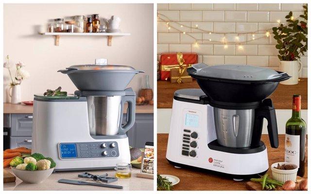 Montaje de robots de cocina de Aldi y Lidl