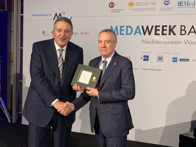 El Consorcio de la Zona Franca de Barcelona, distinguido en la MedaWeek 2019
