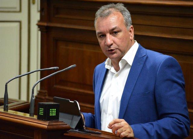 Portavoz de NC en el Parlamento de Canarias, Luis Campos