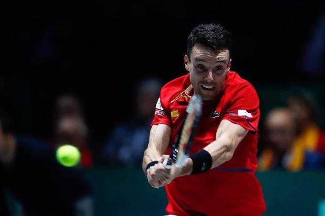 Tenis/Davis.- Roberto Bautista deja el equipo español de la Copa Davis por un pr