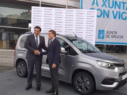 PSA iniciará el 13 de diciembre en Vigo la producción en serie del Toyota Proace City
