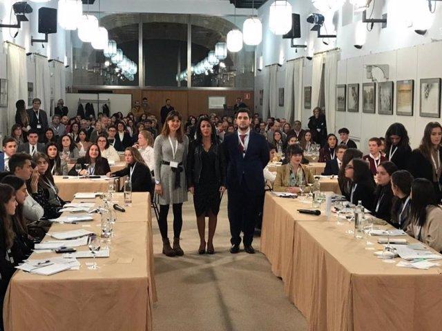 El cambio climático centra la fase final del VI Parlamento Científico de Jóvenes