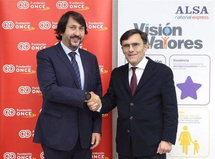 ALSA y Fundación ONCE se unen para contratar a 25 personas con discapacidad en los próximos cinco años