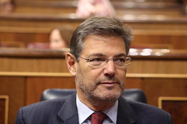 El exministro Rafael Catalá en una imagen de archivo
