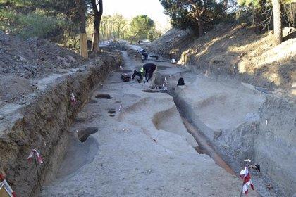Hallan restos de lo que podría ser un campamento romano militar del siglo I en el campus de Somosaguas