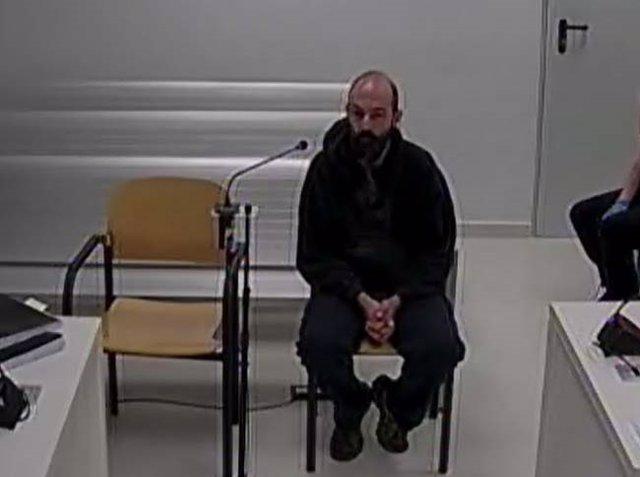 Un dels CDR detinguts durant l'operació Judes declara a l'Audincia Nacional.