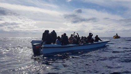 AMP.- Europa.- Rescatados casi 300 migrantes en el Mediterráneo en apenas dos días