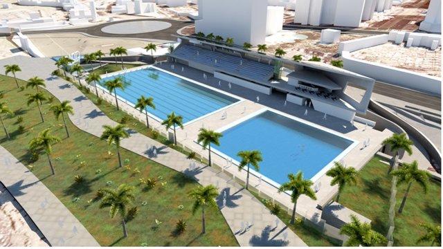 Proyecto de piscina de Puerto de la Cruz