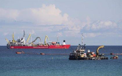 Termina el tendido submarino del enlace eléctrico entre Menorca y Mallorca