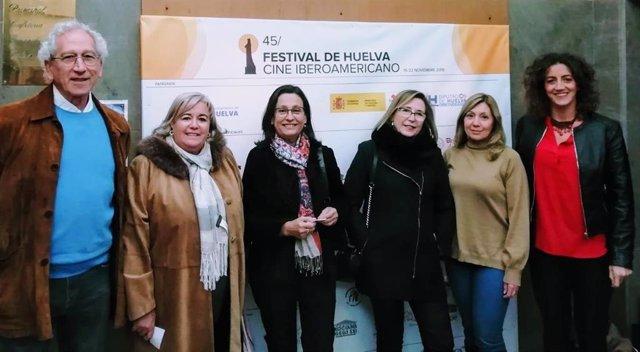 [Grupohuelva] Nota Y Foto Junta (Premio Centro Transfusión A Película Solidaria Festival)