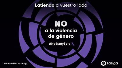 LaLiga se suma al Día Internacional contra la Violencia de Género