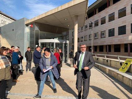 """Jordi Pina señala """"errores"""" en el atestado de un encarcelado por los disturbios en Lleida"""
