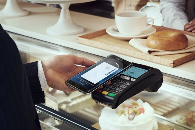 Samsung Pay  Galaxy Smartphone pago móvil