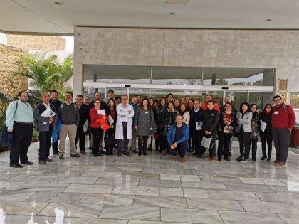 El Hospital de Alta Resolución de Benalmádena recibe a profesionales de Chile para conocer su modelo de gestión