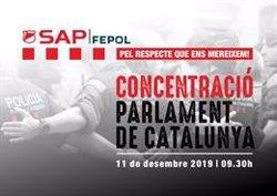 Un sindicat de Mossos convoca una protesta davant el Parlament pel