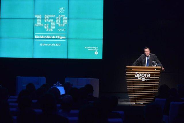 Ángel Simon, president d'Agbar.
